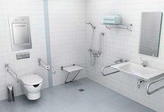 diseños de baños para ancianos - Buscar con Google