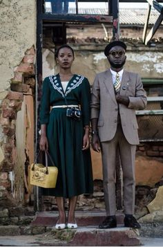 Namibia's Hipsters: From the sapeurs of Kinshasa, the fashionistas of Lagos and to the streets of Jozi, vintage style is trending in Africa.