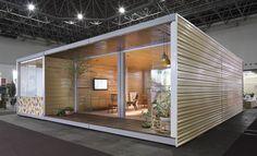 Casa Feira Minascon - Bernardo Horta Arquiteto ( Prefab Prefabricated Mini Minimal house home modular module ) (https://www.facebook.com/bernardohortaarquiteto)