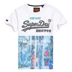 Superdry Vintage Logo AOP Mid Tee Herren T-Shirt L XL 2XL oder 3XL