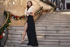 Marianna Hewitt   http://lifewithme.com/holiday-charlotte-tilbury/  blogger, los angeles, fashion blogger, marianna hewitt, marianna hewitt hair, faux fur, rodeo drive, christmas, holiday, lights, decor, decorations, charlotte tilbury