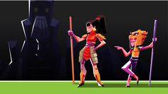 Animated short visual development, jesus andrade on ArtStation at https://www.artstation.com/artwork/6OkXw