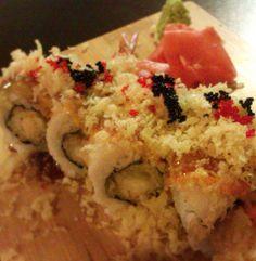 Osaka Roll    http://www.getnmahbelly.com/2012/11/osaka-house-small-joint-big-flavor/  #sushi