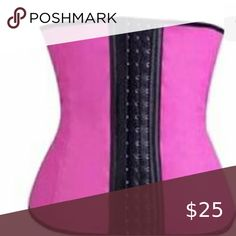 🔥Women's Waist Cincher Body Shaper(Pink)🔥 🔥Thermo compression adjustable shapewear Made out of and Get curvy waist and trimmed mid-section ❗Please use the chart above to help with measurements Other Steampunk Corset, Gothic Corset, Black Corset, Steampunk Fashion, Emo Fashion, Gothic Fashion, Fashion Tips, Waist Training Corset, Waist Cincher