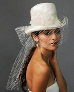 Een stijlvolle hoed voor de bruid – Louise Green Millinerry [Foto´s]