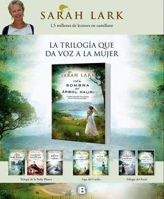 A la sombra del árbol Kauri - Sarah Lark Sarah Lark, Best Novels, I Love Reading, Books To Read, Writer, Ebooks, Landscape, Films, Movies