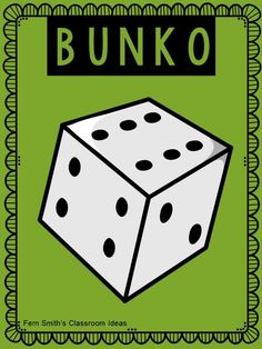Tuesday Teacher Tips: Teacher Team Building - Does your team play Bunko?  It is a fun team building activity.  Read about more team building activities on this post.