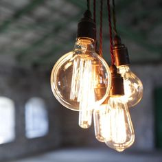 FILAMENT LIGHT BULB  Complete the look with these stylish globe filament bulbs.  Each 40 watt bulb has 2,000 hours of life.