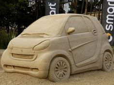 New Smart ForTwo rises from the sand
