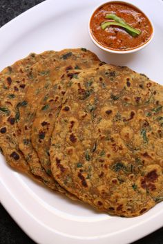 Methi Paratha Recipe is a punjabi paratha recipe and also popular across North Indian regions. This methi paratha is used by making use of fresh methi leaves or fenugreek leaves and chapati dough.