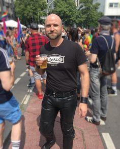 "494 Likes, 16 Comments - @kerl80 on Instagram: ""#prideberlin #csdberlin #leathermen #leatherman #leatherpants #wescoboots # leathergay #gayberlin…"""