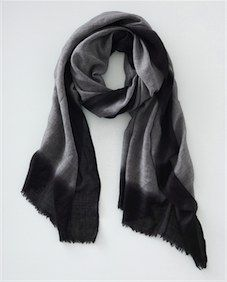 Dipped Dyed Border Scarf