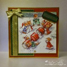 Makey Bakey Mice - Crafters Companion Made using the Hunkydory Papercrafting Kit