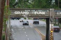 Fenton Road, Flint Michigan: The Grand Funk Railroad!