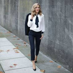 Blogger Mary Orton looking beautiful and classy in Tommy Hilfiger