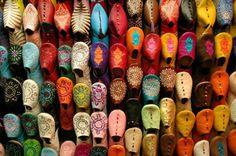 Moroccan Babouches Old Medina Marrakesh Morocco Photograph Moroccan Colors, Moroccan Art, Moroccan Design, Moroccan Style, Morrocan Decor, Ethnic Style, Marrakesh, Rock The Casbah, Rodney Smith