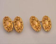 Boutons de Manchette Style Baroque
