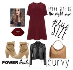 """""""Every size is the right size"""" by ghita-ananda on Polyvore featuring Manon Baptiste, Sole Society, Boohoo, Avenue, Lime Crime and powerlook"""