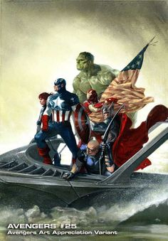 The Avengers! This was so awesome in the theaters!!