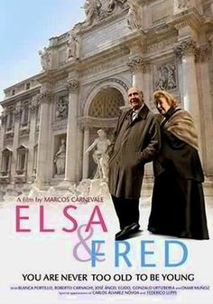 """Elsa & Fred (2005) After his wife dies, reserved septuagenarian Alfredo (Manuel Alexandre) moves into a small Madrid apartment, where sparks fly with his neighbor Elsa (China Zorrilla), a fiery 82-year-old widow who christens him """"Fred."""" Elsa's wild insouciance lures Fred into a whirlwind romance -- and a celebration of life -- in this award-winning romantic comedy from Spain and Argentina."""