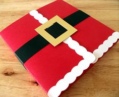 Holidays Christmas Santa CD and DS Sized Gift Box - Great Christmas Craft for Children - CIJUK10 - 10% Discount with Code