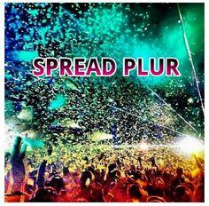 Spread PLUR - Kandi Rave