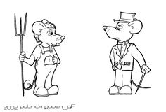 town mouse country mouse color pages | ... of the classic story of the ...