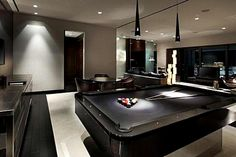 All black man cave. Its not a man cave tho cause I would always be in here.