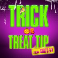 Trick or Treat tips from Emoji Movie