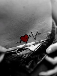 beating heart... reminds me of a bumper sticker I used to have:: abortion stops a beating heart. definitely a tattoo I would get if I were ever to get another.