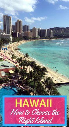 Which is the Best Hawaiian Island for You? How to choose the right Hawaiian vacation for your family vacation: Headed to Hawaii and can't decide between Maui, Kauai, the Big Island, or O'ahu? How to make the right decision in paradise! Big Island Hawaii, Best Hawaiian Island, Best Island Vacation, Lanai Island, Hawaii Vacation, Hawaiian Islands, Island Beach, Hawaii Travel, Hawaii Honeymoon