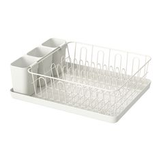 VARIERA Dish drainer IKEA Removable tray underneath; collects drainer water.