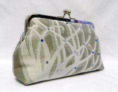 Bridal clutch purse Wedding Clutch Purse Grey and by TheHeartLabel, £35.95