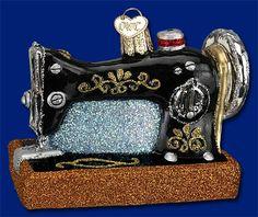 Sewing Machine - Old World Christmas