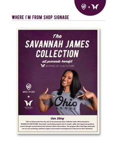 b3cd0bd77 Savannah James is launching a T-shirt collection in Northeast Ohio