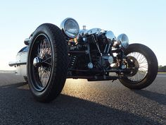 Harley Davidson Shovelhead JZR. Morgan Super Aero | Flickr - Photo Sharing!
