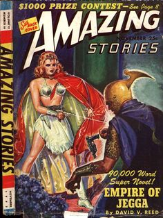 Comic Book Cover For Amazing Stories v17 10