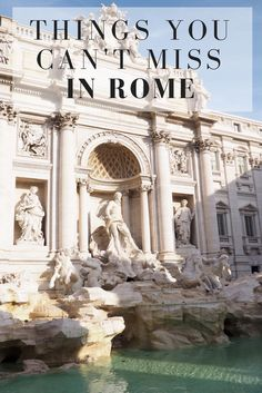 Planning your first time visit to Rome? // Click through to read the whole article on girlxdeparture.com