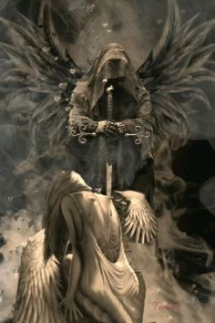 Ghost Rider Wallpaper, Scary Wallpaper, Skull Wallpaper, Dark Artwork, Skull Artwork, Dark Art Drawings, Dark Fantasy Art, Grim Reaper Art, Angels And Demons