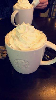Monday 22nd May 2017: Starbucks break between shopping 👜 got to be a white chocolate mocha