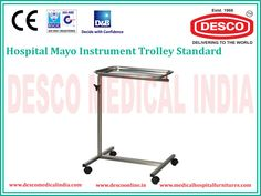 Medical instruments trolleys play vital roles in the hospitals and nursing homes. Are you looking for medical appliance trolleys? You must visit DESCO India, we are the manufacturer and distributor of Medical Gadget Trolleys in different shapes and designs.