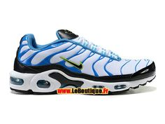 hot sale online 12ef3 d8a76 Nike Air Max Tn Tuned Requin 2015 - Chaussures Nike Sportswear Pas Cher  Pour Homme Blanc Bleu Noir 604133-207