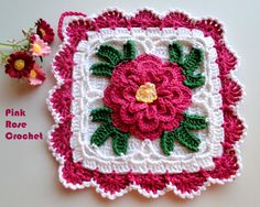 \ PINK ROSE CROCHET /: Search Results Handle flower pots