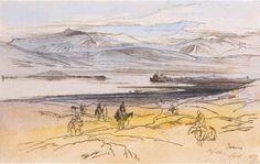 Paintings of Greece, Edward Lear, landscape artist