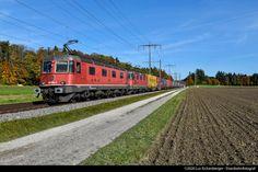 Swiss Railways, Electric Locomotive, Switzerland, 19th Century
