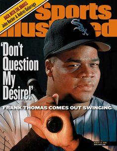 Frank Thomas, Chicago White Sox 2014 Baseball Hall of Fame Inductees - Sports Illustrated cover