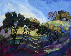 Paso Robles Painting by Erin Hanson