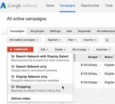 Google Shopping Campaigns global launch
