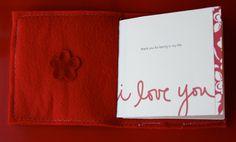 """""""I love you"""" free printable + tutorial."""