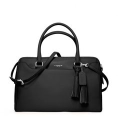 The Legacy Haley Satchel With Strap In Leather from Coach